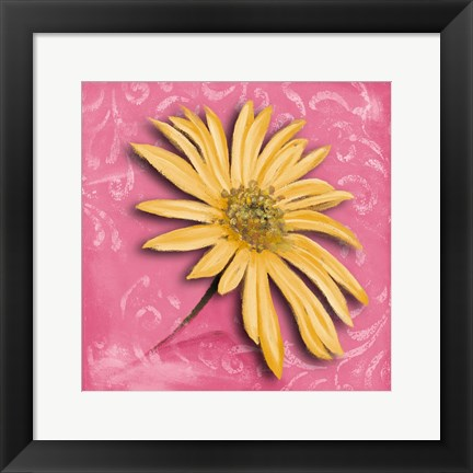 Framed Blooming Daisy II Print