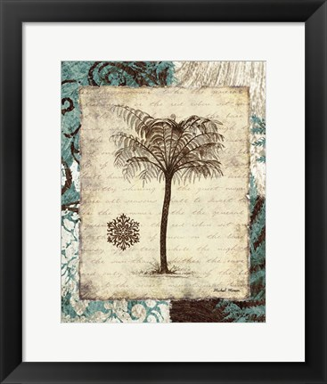 Framed Secret Fern IV Print