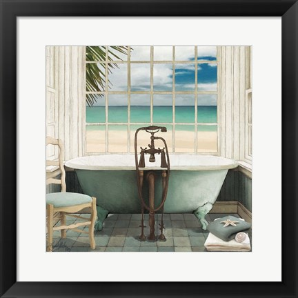 Framed Oceanview I Print