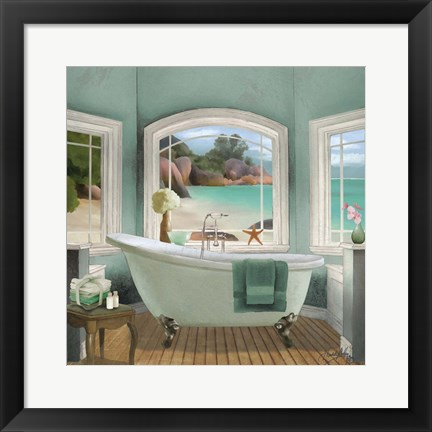 Framed Oceanview II Print