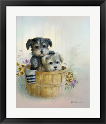 Framed Brotherly Love Print