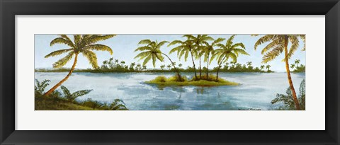 Framed Cool Tropics I Print