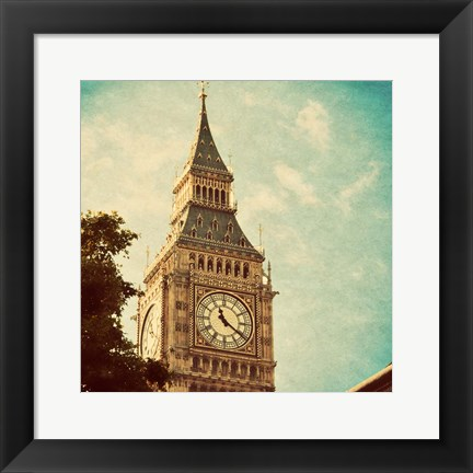Framed London Sights I Print