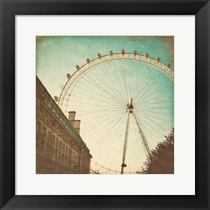 Framed London Sights II Print