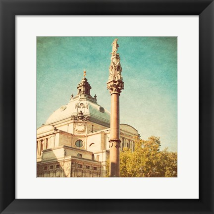 Framed London Sights IV Print