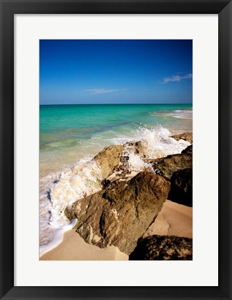 Framed Rising Tide I Print