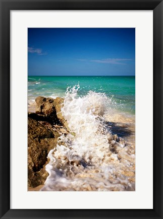 Framed Rising Tide II Print