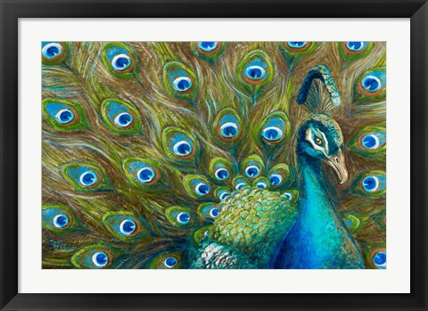 Framed Wild Feathers Print