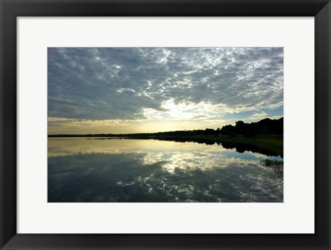Framed Reflections of the Sky Print