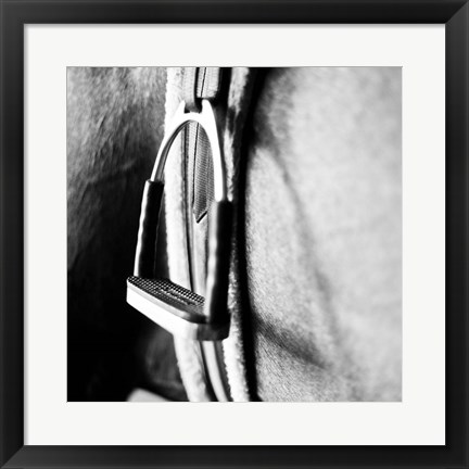 Framed In the Stable II Print