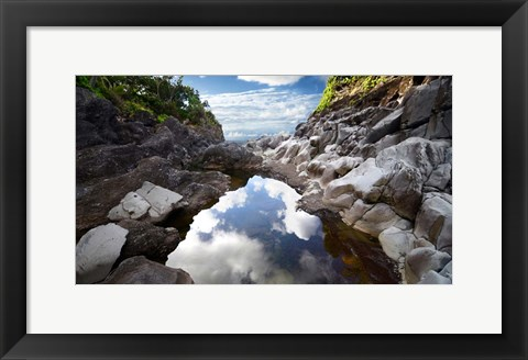 Framed Reflecting Ravine Print