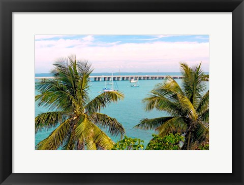 Framed Beautiful Day Print