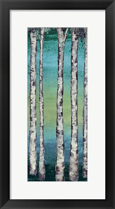 Framed Tall Trees I Print