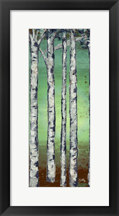 Framed Tall Trees II Print