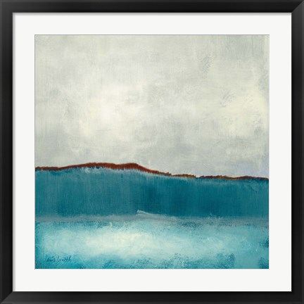 Framed Clouds of Neptune II Print
