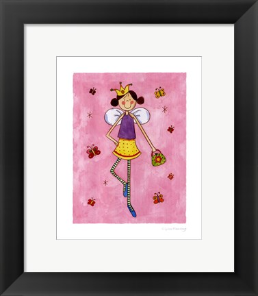 Framed Fashion Fairies III Print