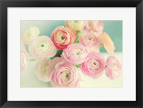Framed Blushing Blossoms Print