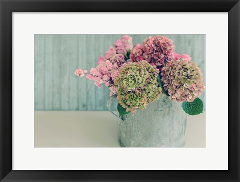 Framed Blossoming Water Can Print