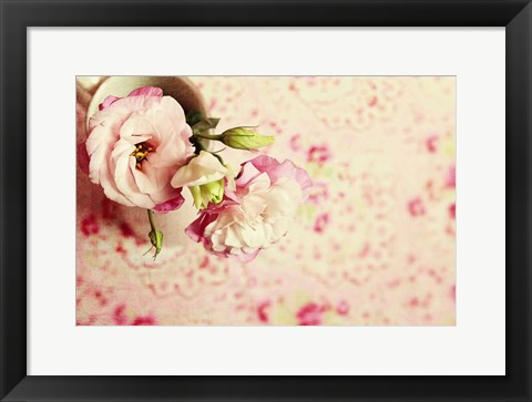 Framed Cup of Romance Print