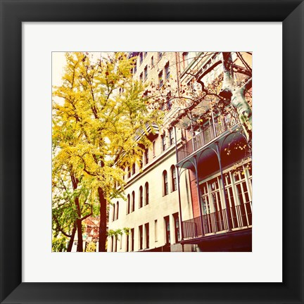 Framed Chelsea Afternoon II Print