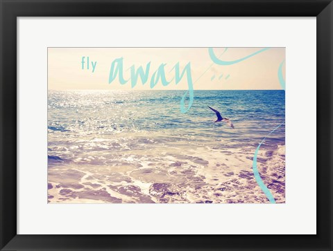 Framed Fly Away Print