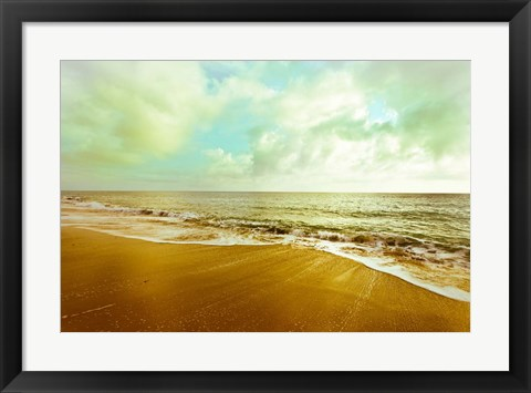 Framed Gold Beach Print