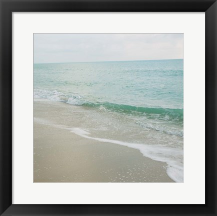 Framed Beach Scene I Print
