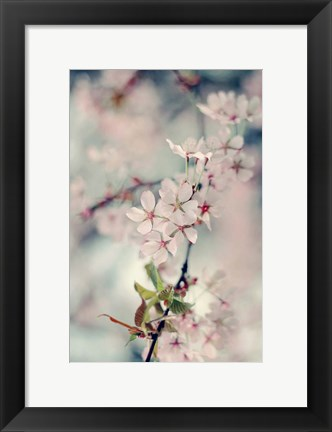 Framed Branch of Beauty Vertical Print