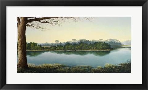 Framed Peaceful Afternoon Print