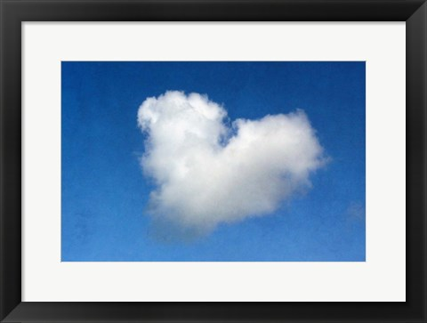 Framed Love is in the Air Print