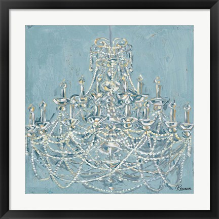 Framed New Chandelier I Print