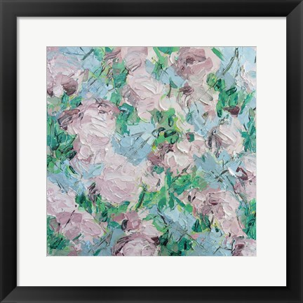 Framed Kwanzan Cherry Print