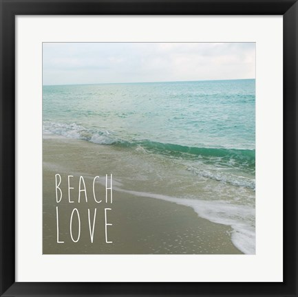 Framed Beach Love Print