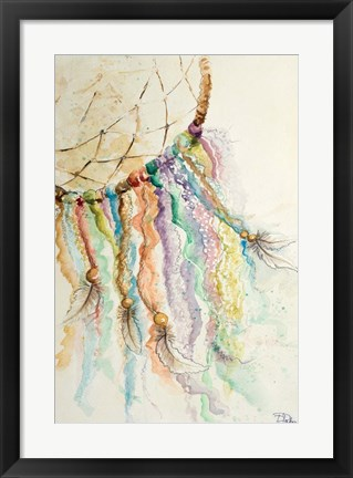 Framed Dream Catcher I Print