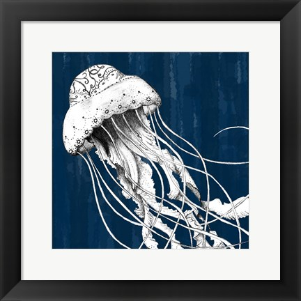 Framed Underwater Creatures I Print