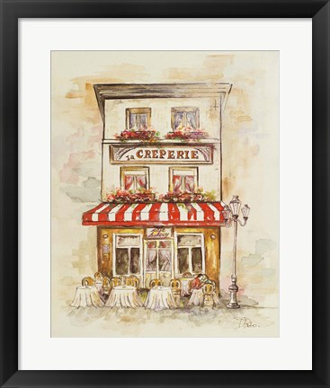 Framed Cafe Du Paris II Print