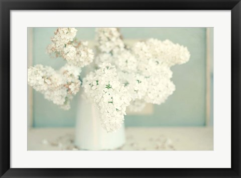 Framed Gorgeous Whites Print