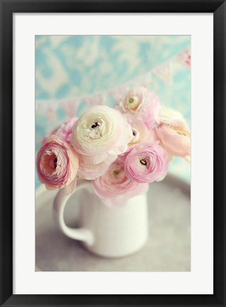 Framed Ranunculus Party II Print
