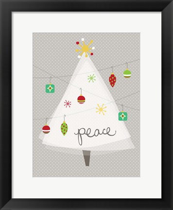 Framed Christmas Joy II Print