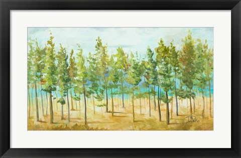 Framed Bosque Verde Print