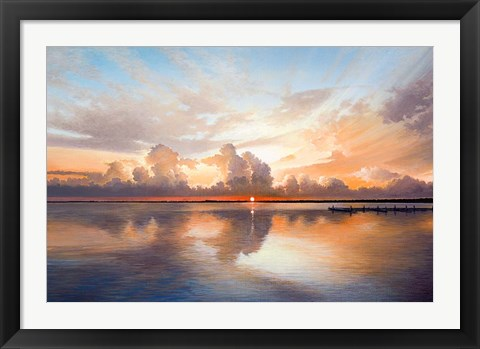 Framed Sunset Sunrise Print