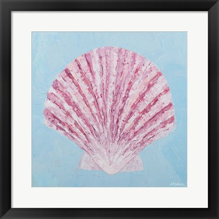 Framed Conch & Scallop II Print