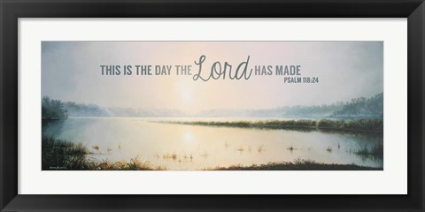 Framed This is the Day II Print