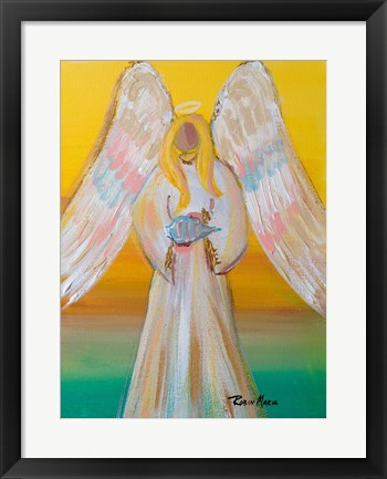 Framed Angel of Summer Print