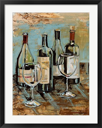 Framed Wine I Print