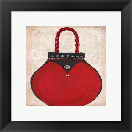 Framed Paris Clutch I Print