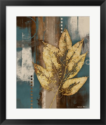 Framed Golden Force I Print