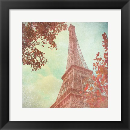 Framed April in Paris I Print