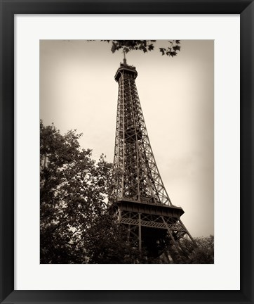 Framed Last Day in Paris II Print