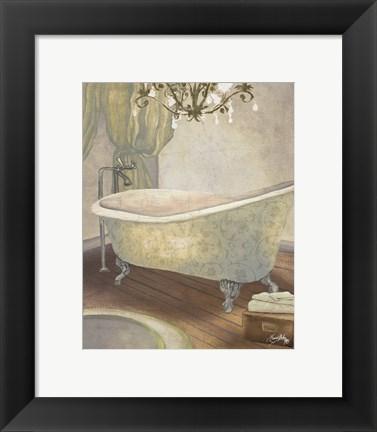 Framed Guest Bathroom II Print